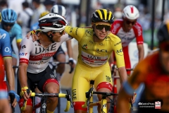 Tour de France 2020 - 107th Edition - 21th stage Mantes-la-Jolie - Paris 122 km - 20/09/2020 - Tadej Pogacar (SLO - UAE - Team Emirates) - Jan Polanc (SLO - UAE - Team Emirates) - photo POOL/BettiniPhoto�2020