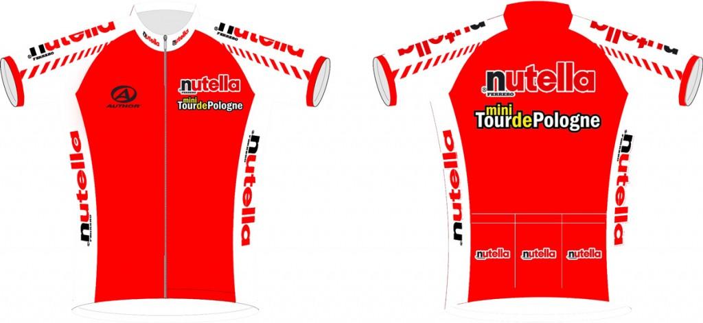 Koszulka kolarska Nutella Mini Tour de Pologne