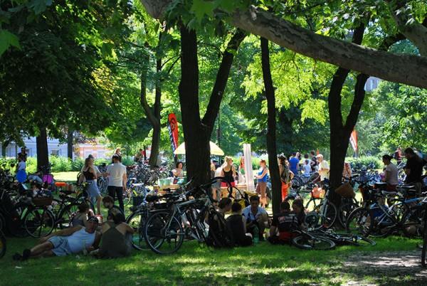 Piknik w Parku Tołpy, 8. czerwca, fot. Magda Kościańska