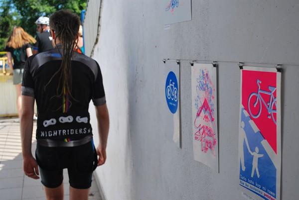 Tour de Rower Zine na terenie wrocławskiego toru kolarskiego, fot. Magda Kościańska