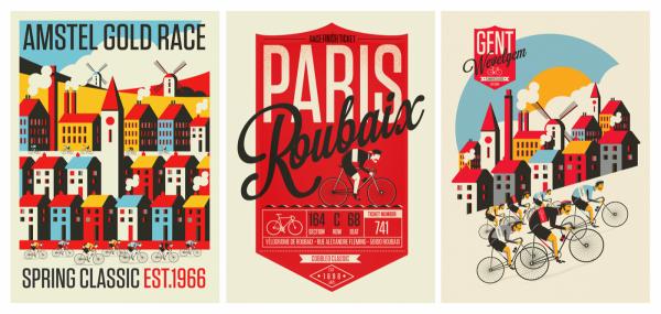 Plakaty rowerowe - Neil Stevens