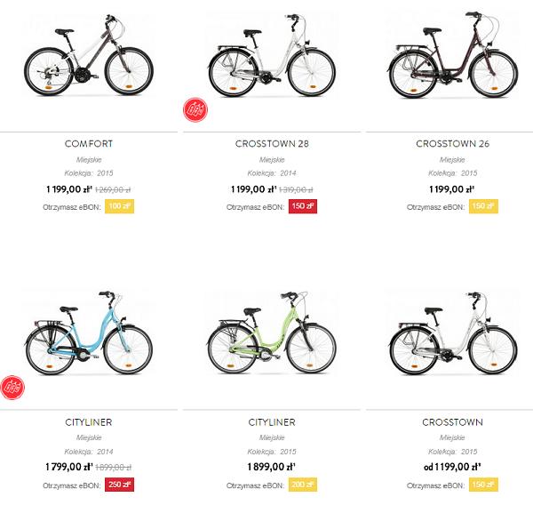 miejskie rowery Accent