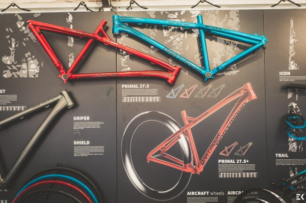 Eurobike2015_Dartmoor_booth_Primal_27.5_and_Primal_27.5_Plus_frames