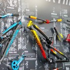 Eurobike2015_Dartmoor_booth_full_suspension_frames_wall