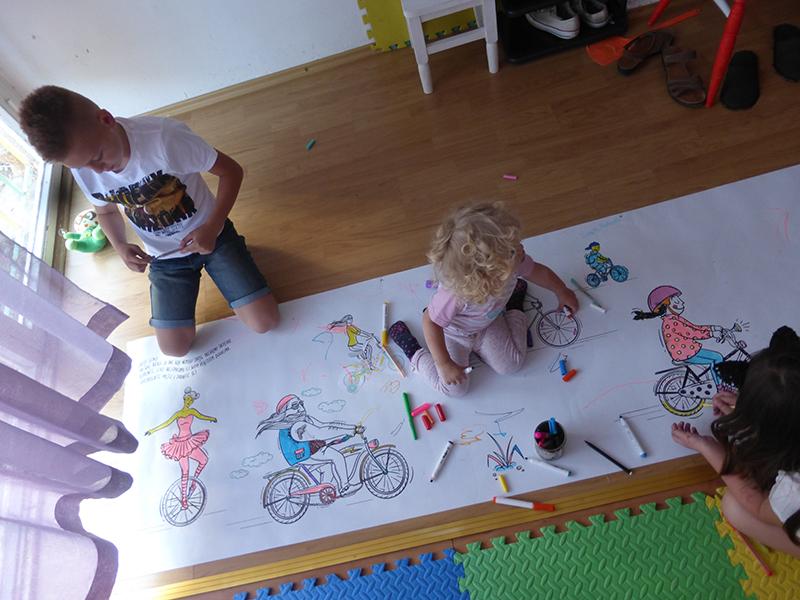 Mostar, warsztaty rowerowe - Magda Kościańska, Magic Suitcase, fot. M. Kościańska